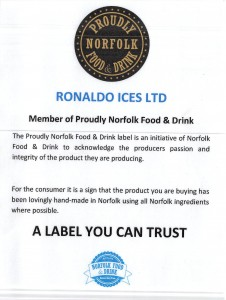 Proudly Norfolk Food & Drink mission statement