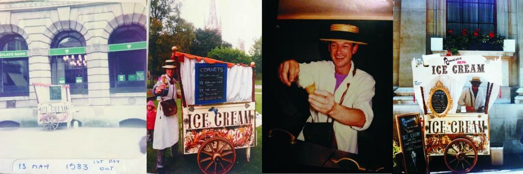 ice cream barrow london street Norwich 1983
