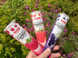 Est Anglian Fruit Ices Strawberry, Raspberry, Blackcurrant