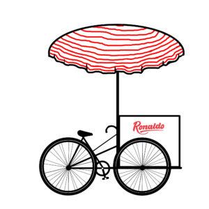 ronaldo ice cream trike