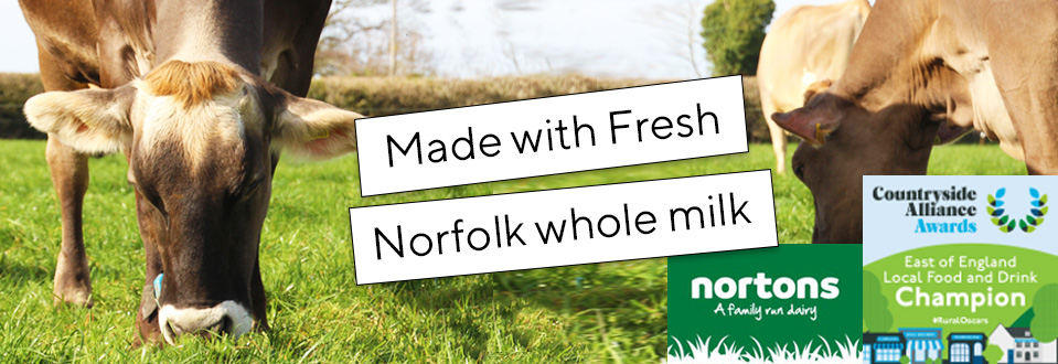 Made with Norfolk whole milk